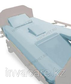 MET KARDO Простыни четырехсоставные натяжные (2 шт. в комплекте) для кровати