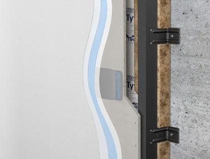 Навесная фасадная система Аквапанель