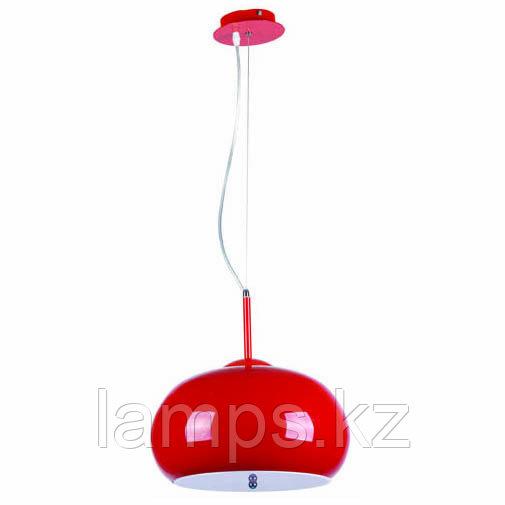 Люстра подвесная SL028-3R E27 40W RED
