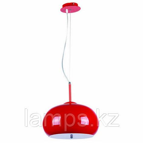 Люстра подвесная SL028-3R E27 40W RED, фото 2
