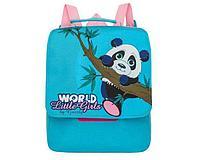 Рюкзак детский панда голубой