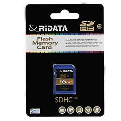 Ridata (Ritek) SD 16GB Class 10