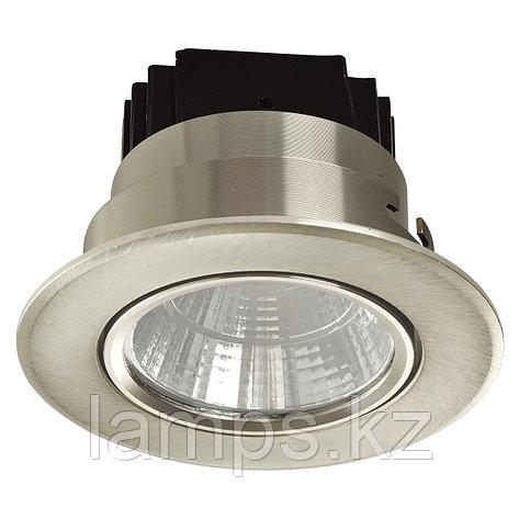 Спот встраиваемый светодиодный LED COB 02 5W CHROME , фото 2