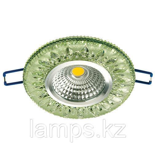 Спот встраиваемый светодиодный LED XN-0219 Green