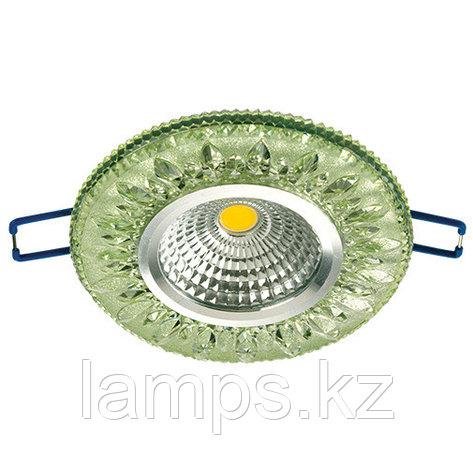Спот встраиваемый светодиодный LED XN-0219 Green , фото 2
