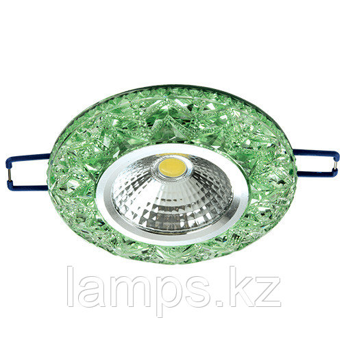 Спот встраиваемый светодиодный LED XN-0215 Green