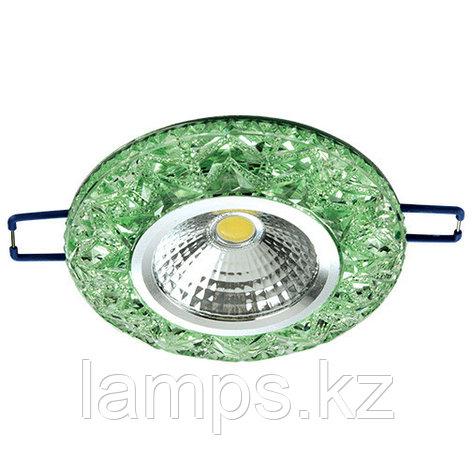 Спот встраиваемый светодиодный LED XN-0215 Green , фото 2