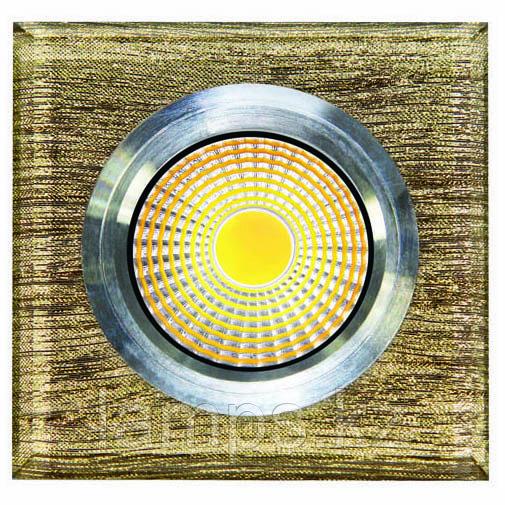 Спот встраиваемый светодиодный LED QS-S28B Квадрат