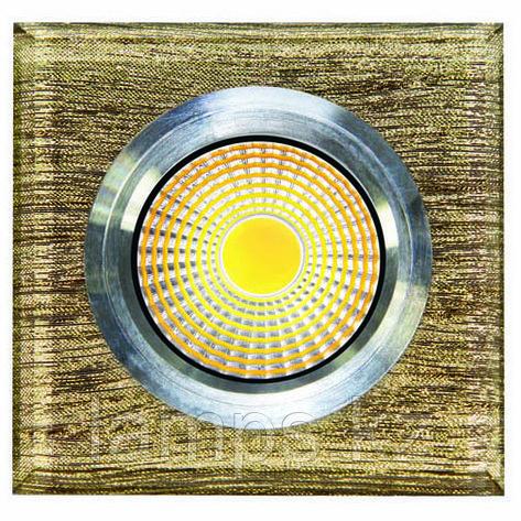 Спот встраиваемый светодиодный LED QS-S28B Квадрат , фото 2