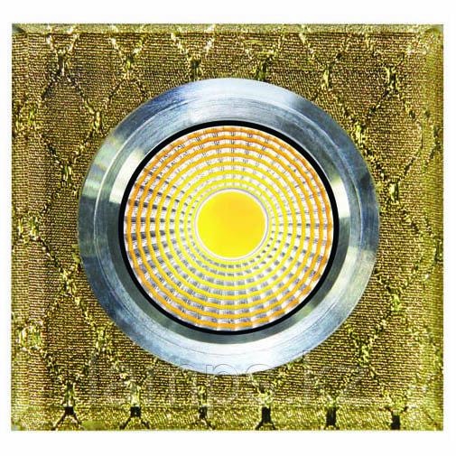 Спот встраиваемый светодиодный LED QX8-W256 Квадрат