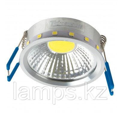 Лампа для встраиваемого светодиодного спота COB 5W CHROME