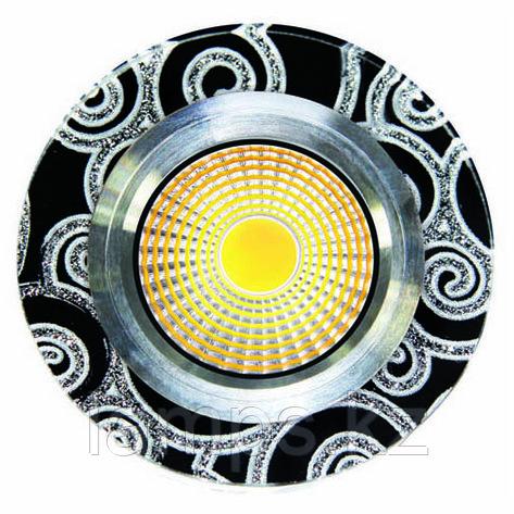 Спот встраиваемый светодиодный LED SPD-YXYHD Квадрат White Black , фото 2