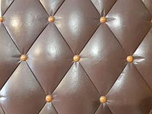 3D панель кожа коричневая