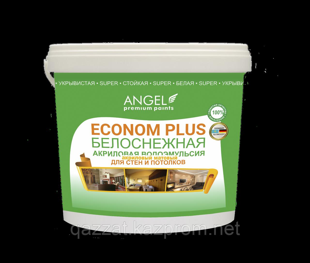 """Водоэмульсионная краска """"Angel"""" Econom Plus 3,5 кг"""