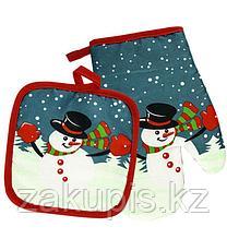 Прихватки «Снеговики»