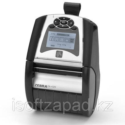 Мобильный принтер этикеток Zebra DT QLN320, фото 2