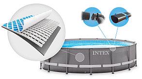 Круглый каркасный бассейн Intex 26330 (549 х 132 см, на 26423 литров) доставка, фото 2