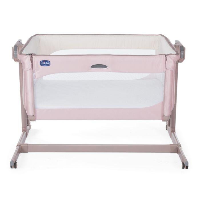 Chicco: Кроватка-манеж Next2Me Magic Candy Pink 0м+