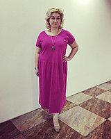 Летние платья с заниженной талией 50-58 размер