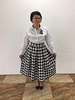 Эксклюзивная юбка хлопок/шерсть 42-44 размер , фото 1