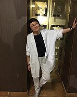Нарядный костюм белый 46-56 размер , фото 1