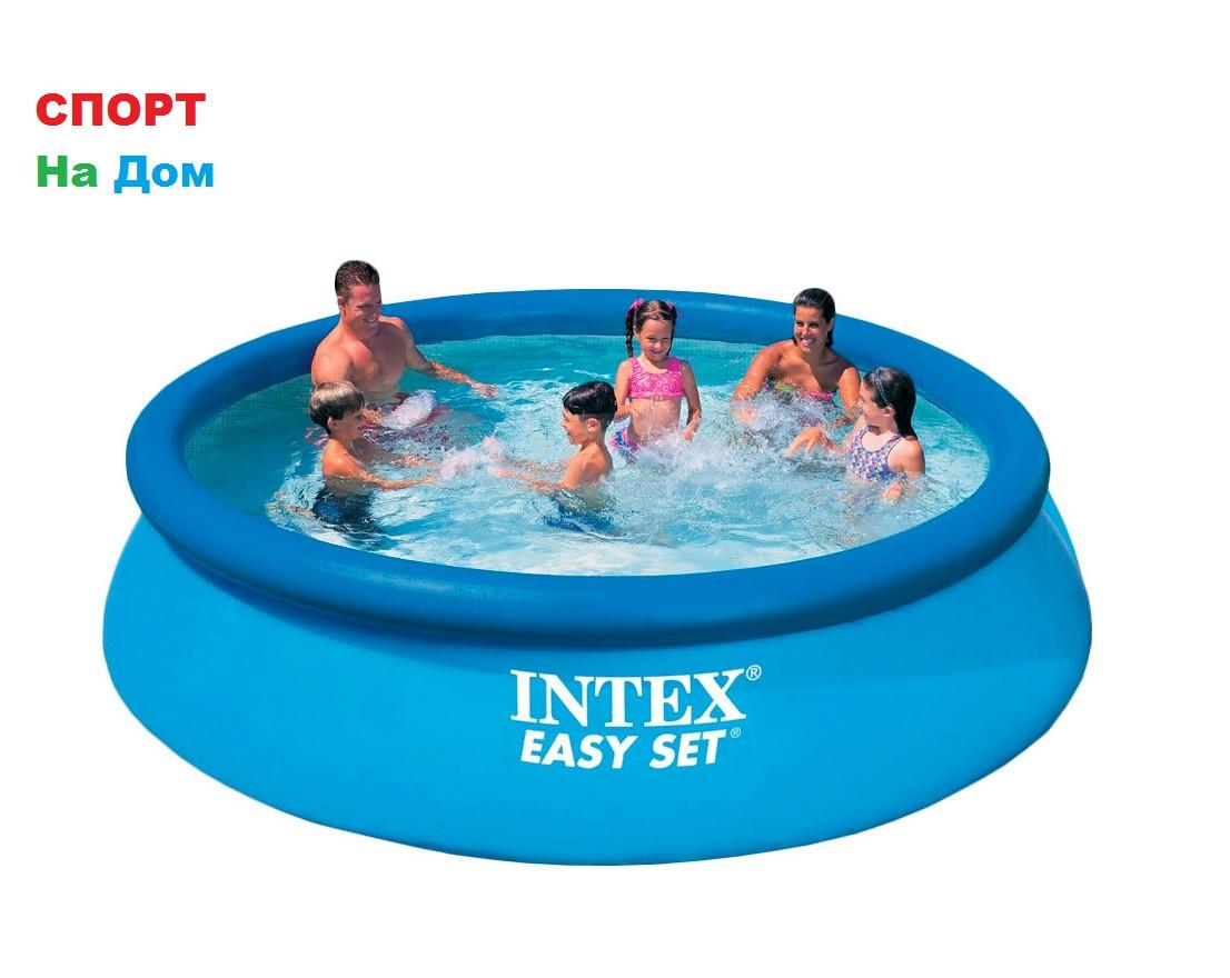 Круглый надувной бассейн Intex 28130 ( Габариты: 366 х 76 см на 5621 литров) доставка