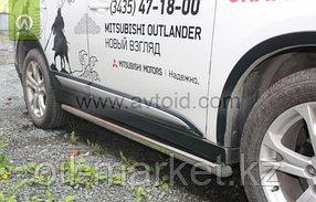 Пороги, труба для Mitsubishi Outlander (2015-2018), фото 2