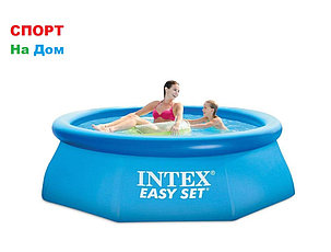 Круглый надувной бассейн Intex 28110 ( Габариты: 244 х 76 см, на 2419 литров ), фото 2