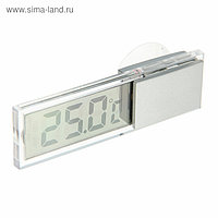 Термометр LuazON LTR-17, электронный, на присоске, прозрачный