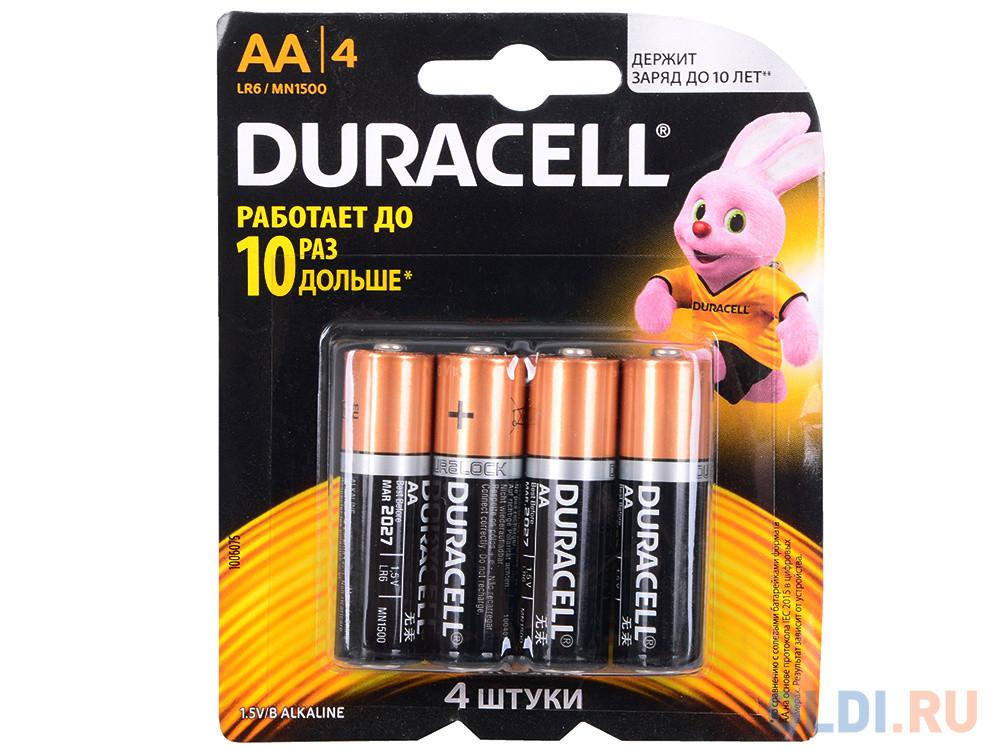 Батарейка DURACELL AA  Basic 1.5v алкалиновая  LR6