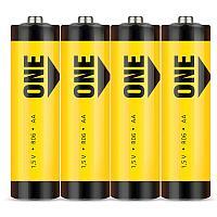 Батарейка AA SmartBuy ONE R6/4S, солевая