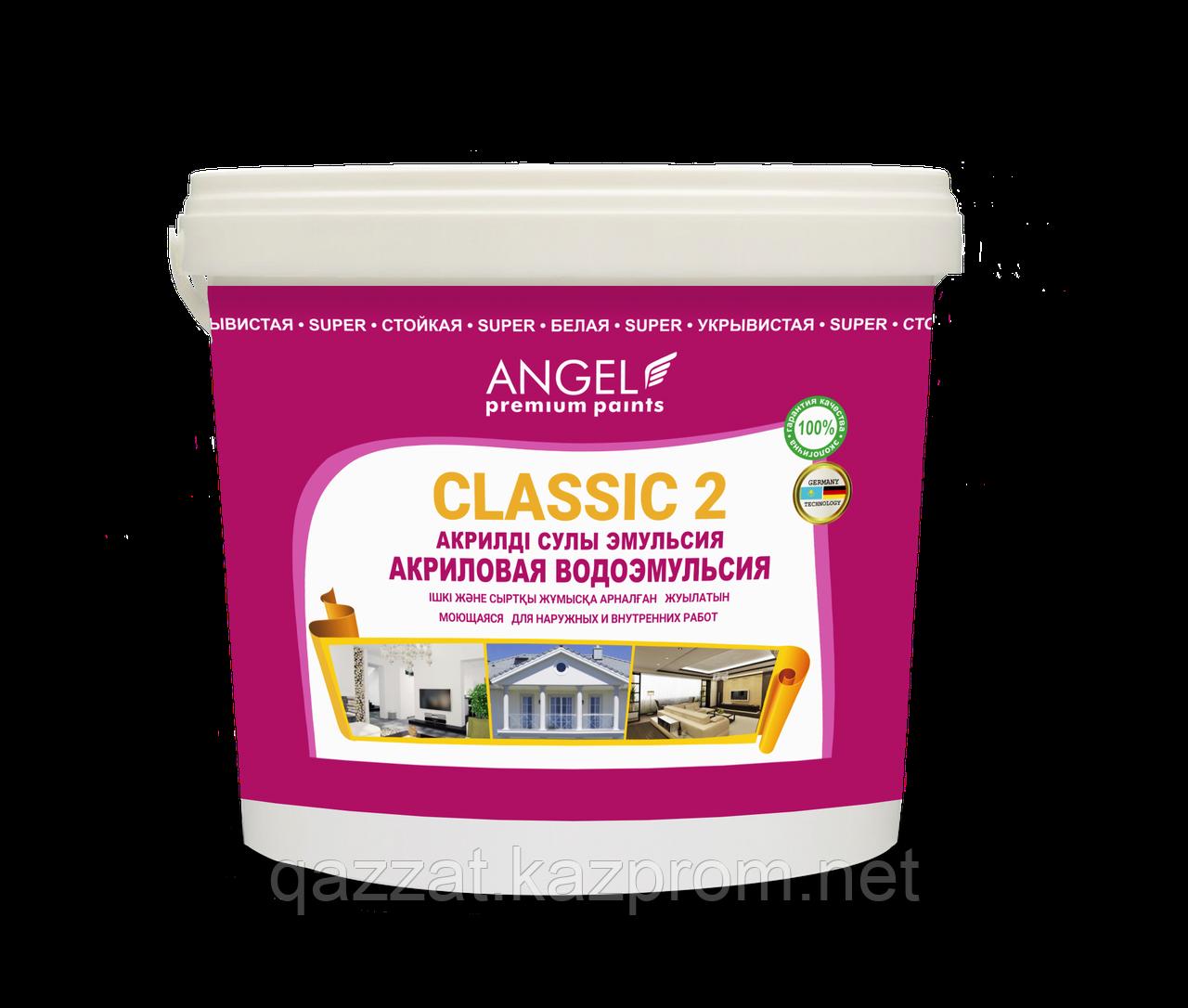 """Водоэмульсионная краска """"Ange Classic-2""""  6,5 кг"""