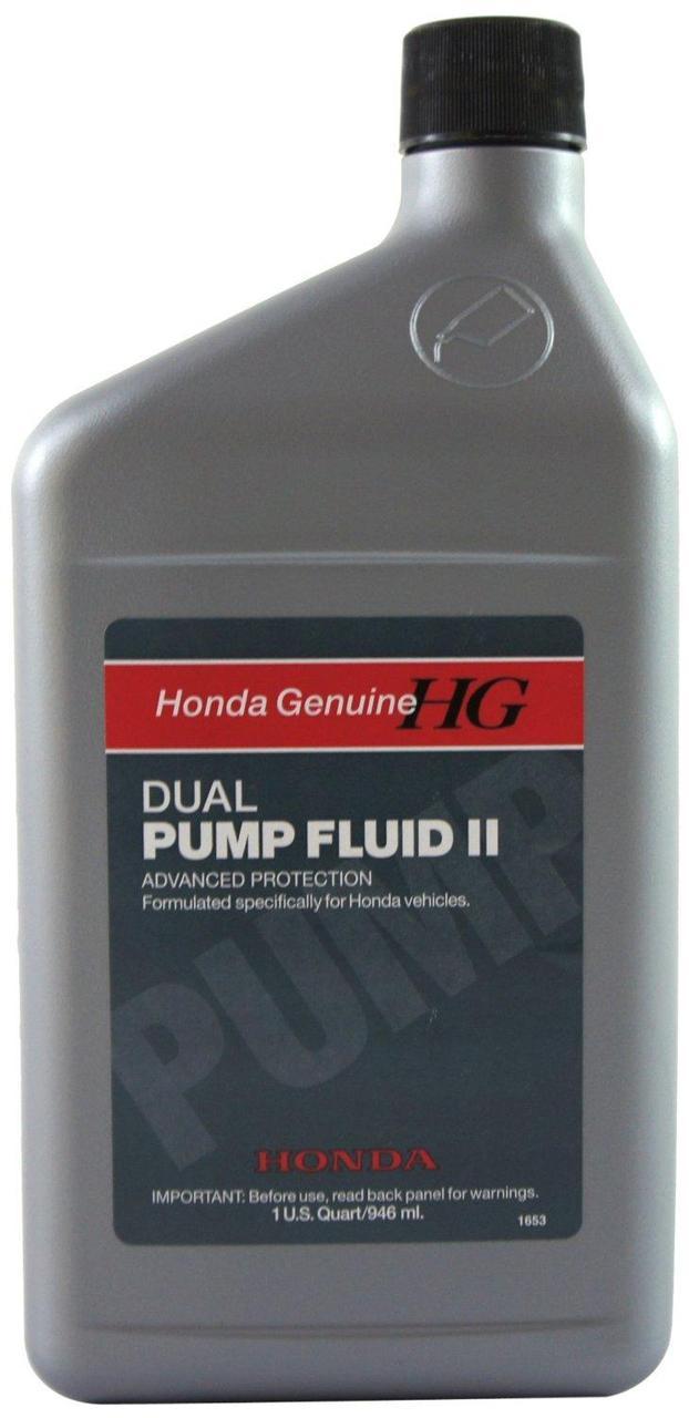 Трансмиссионная  Жидкость Honda Genuine HG DUAL PUMP FLUID II(задний мост) DPF 2 заднего редуктора 1L