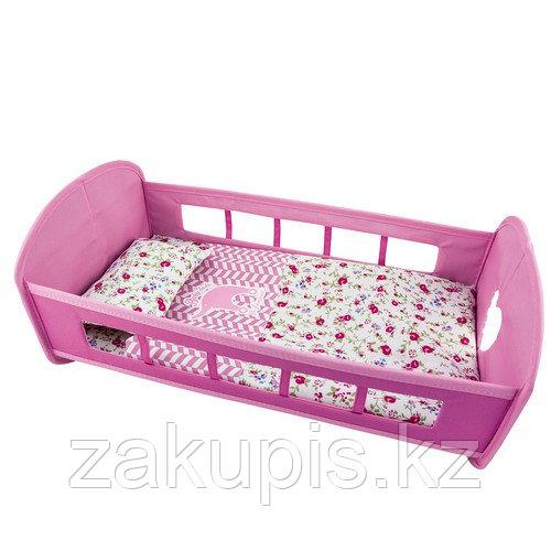 Кроватка с постелью для куклы