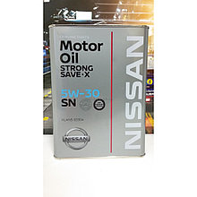Моторное масло Nissan Strong Save-X SN 5W30 4 л