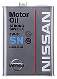 Моторное масло Nissan Strong Save-X SN 5W30 4 л, фото 2