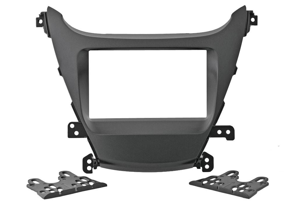 Переходная рамка для Hyundai Elantra 2014+ (крепеж) Intro RHY-N42 2din