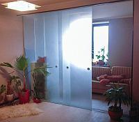 Стеклянные перегородки для дома, квартиры, комнаты