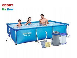Каркасный бассейн BestWay 56411 (300 х 201 х 66 см, на 3300 литров ), фото 2