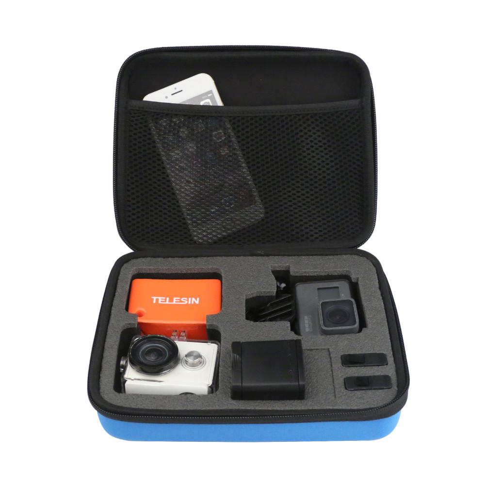 Средняя сумка для экшн-камер TELESIN-210 Черная