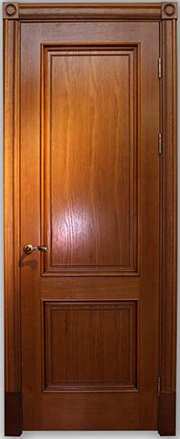 Дверь Йорк медовый дуб без стекла