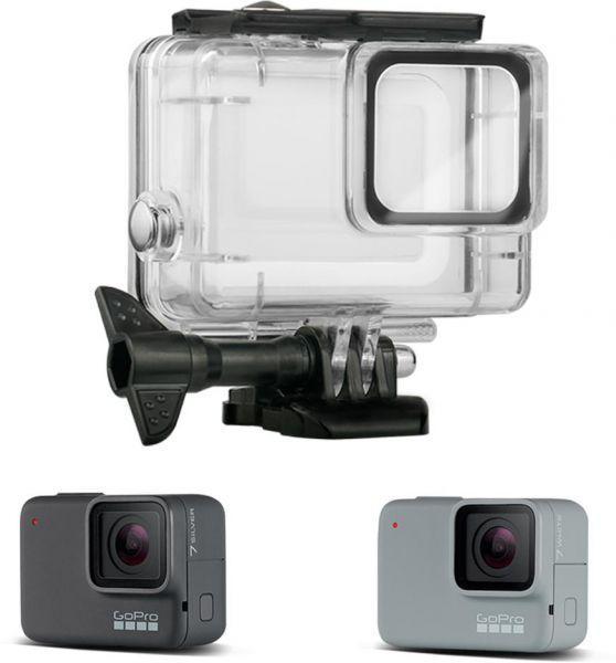 Аквабокс (водонепроницаемый бокс) для GoPro HERO 7 White/Silver