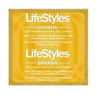 Lifestyles Banana (презерватив с ароматом банана)