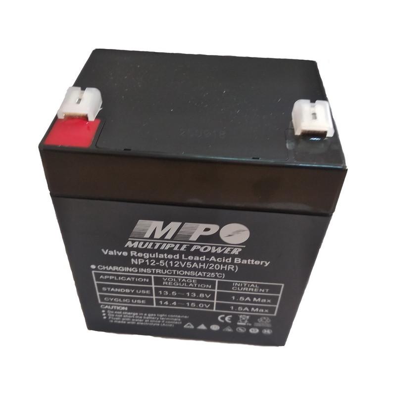 Аккумулятор AGM MULTIPLE POWER NP (5Ah 12V) для детских машинок и ИБП
