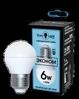 Светодиодная лампа ELEC-513-G45-6-5K-E27-FR