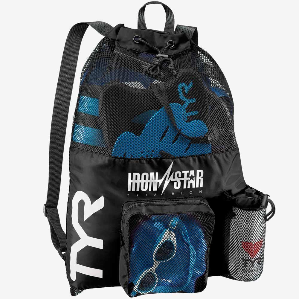 Рюкзак для аксессуаров TYR Big Mesh Mummy Backpack IRONSTAR