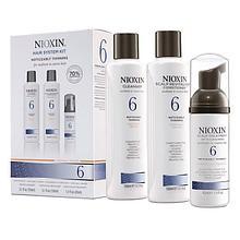 Nioxin System № 6 - для ухода за волосами от средних до жестких, химически обработанных, редеющих.