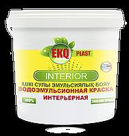 """Водоэмульсионная акриловая краска """"EKQ-PLAST Interior"""" 25 кг"""