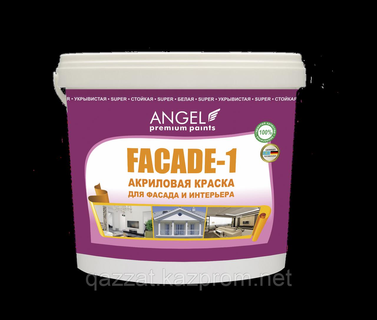 """Водоэмульсионная фасадная краска """"Angel Fasade-1"""" 6,5 кг"""