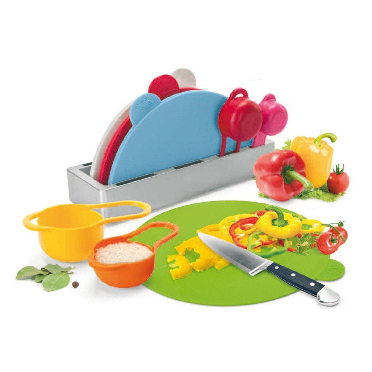 Набор пластиковой посуды Rainbow Multiboard